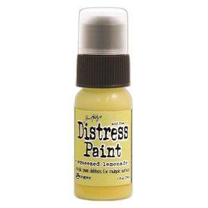 Tim Holtz Distress Paint- Squeezed Lemonade